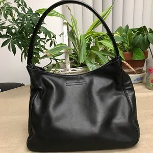 Prada buttery soft leather handbag